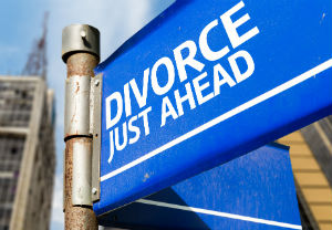 Connection between motorcycle accident and divorce